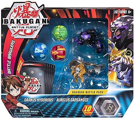 Bakugan Battle Pack Darkus Hydordus, Aurelus Garganoid (BIZAK ...