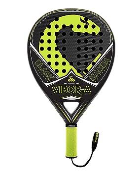 VIBOR-A Black - Mamba Pala de Pádel, Unisex Adulto, Negro/Amarillo, Talla Única: Amazon.es: Deportes y aire libre