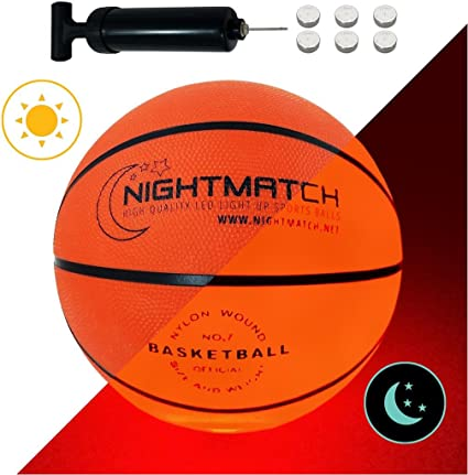 Amazon.com: NIGHTMATCH - Balón de baloncesto iluminado Bomba ...