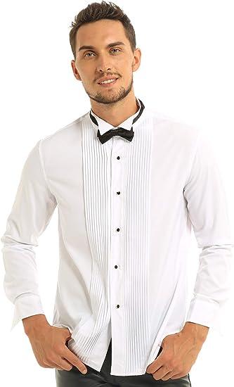 DOLCE Camicie Uomo Paisley Camicia Da Uomo Colletto gregge
