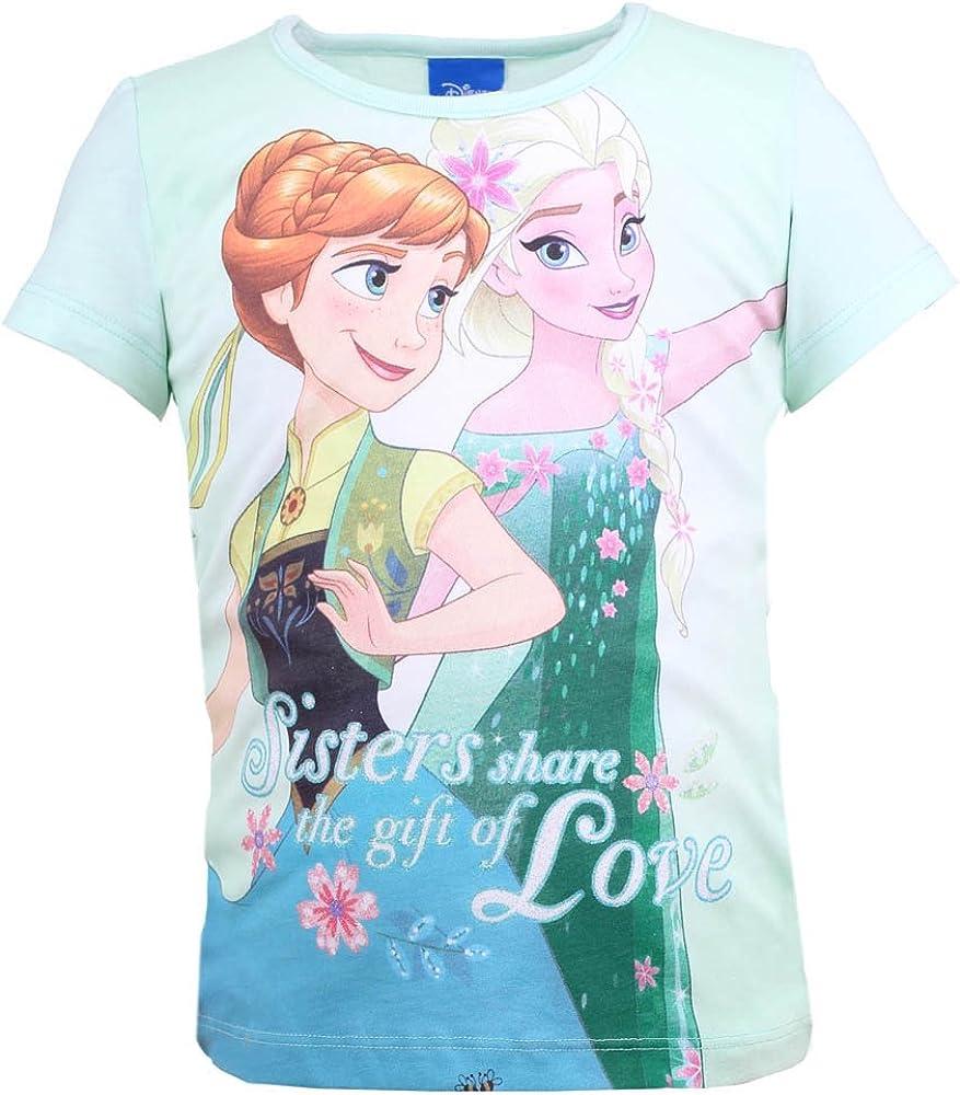 Disney Niñas Frozen Camisa, Verde Menta: Amazon.es: Ropa y accesorios