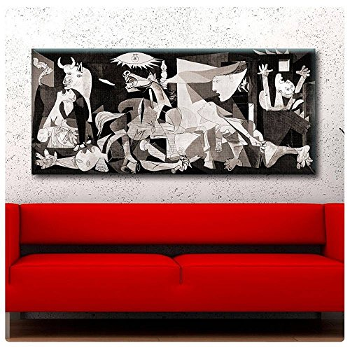 Alonline Art - Guernica Pablo Picasso POSTER PRINTS ROLLED (Print on Fine Art PHOTO PAPER) 27