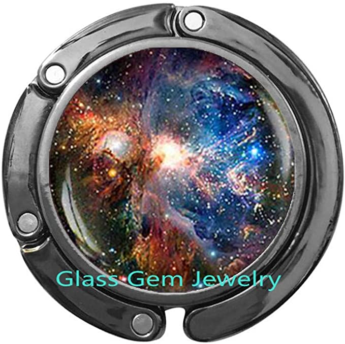 Galaxy Locket Necklace Nebula Locket Necklace Space Locket Necklace,Q0042 Universe Jewelry Space Locket Necklace Orion nebula Locket Necklace