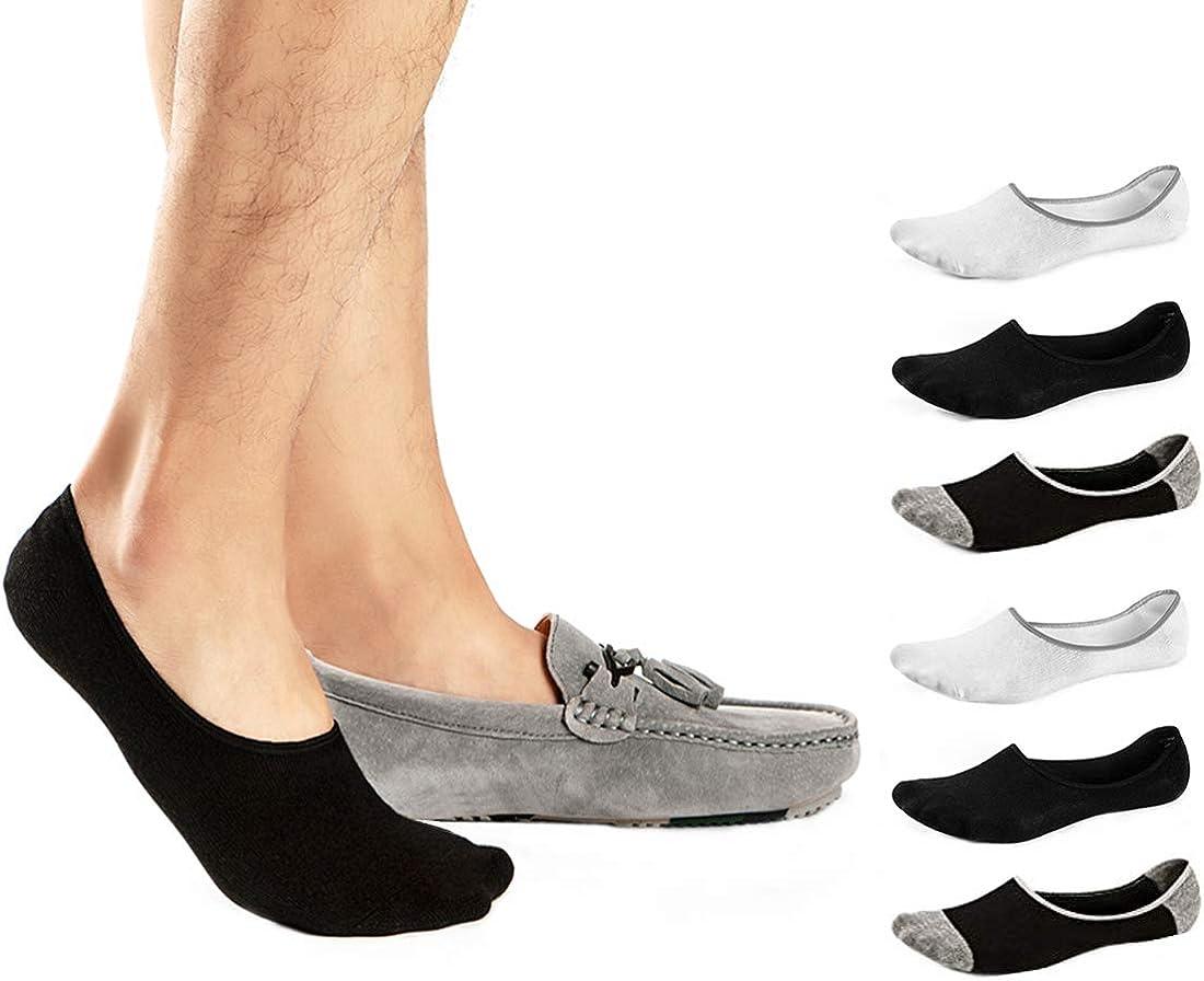 5 10 Paires Homme//Femme Coton Mocassin Bateau Non-slip invisible Low Cut No Show Chaussettes