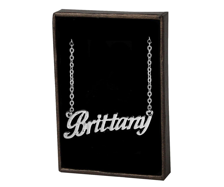 Zacria Brittany 18K White Gold Plated Gift Set