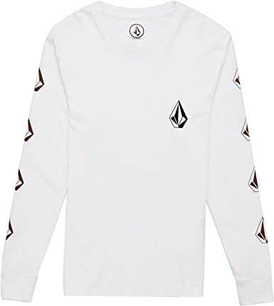 Volcom - Camiseta Deadly Stone Basic Mangas Largas - Camiseta Niño - Blanco: Amazon.es: Ropa y accesorios