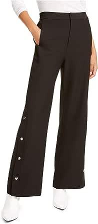 RACHEL Rachel Roy Womens Rani High Rise Paillettes Pants