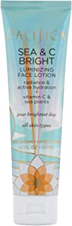 product image for Pacifica Sea & C Bright Luminizing Face Lotion, For All Skin Types, Vegan & Cruelty Free, 1.7 Fl Oz