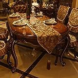 European Style Dining Chair Cushion Chair Back Towel,Luxurious Chair Back Cover Table Flag Tablecloth-B 140x180cm(55x71inch)