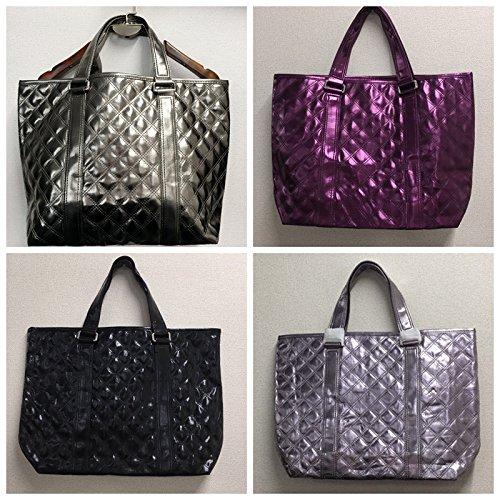 1f760bcd6cd2 Amazon.co.jp: バッグ 使いやすさにこだわった、毎日の通勤・通学に頼れるバッグ 多収納ポケットトートバッグレディース/鞄/フェイクレザー/合皮/バイカラー/  ...