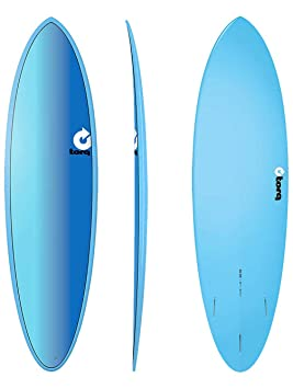 TORQ Tabla de Surf epoxy Tet 6.8 Fun Board Full Fade