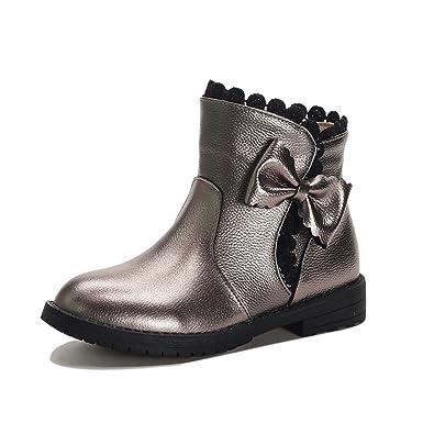 f787ac7043d7f8 Qianliuk Mädchen Chelsea Boots