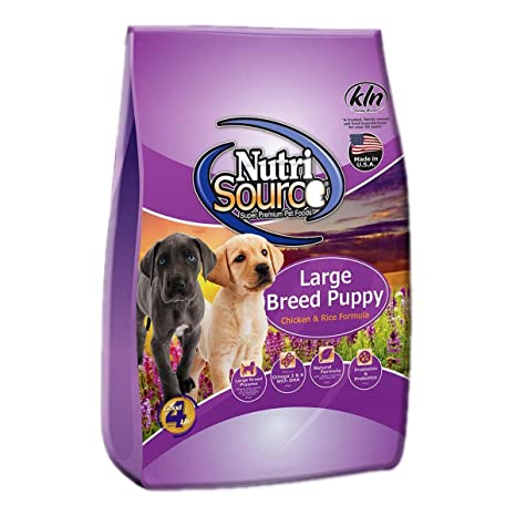 Amazon.com: nutrisource grande raza Puppy Pollo & Arroz ...