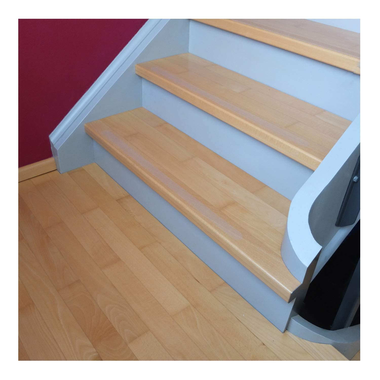 transparent 45x3cm CANOSIGN 15 Anti-Rutsch Streifen f/ür Treppen Stufe