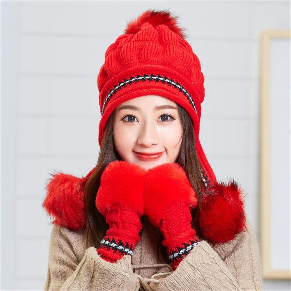 Zhuohong Cute Knitted...