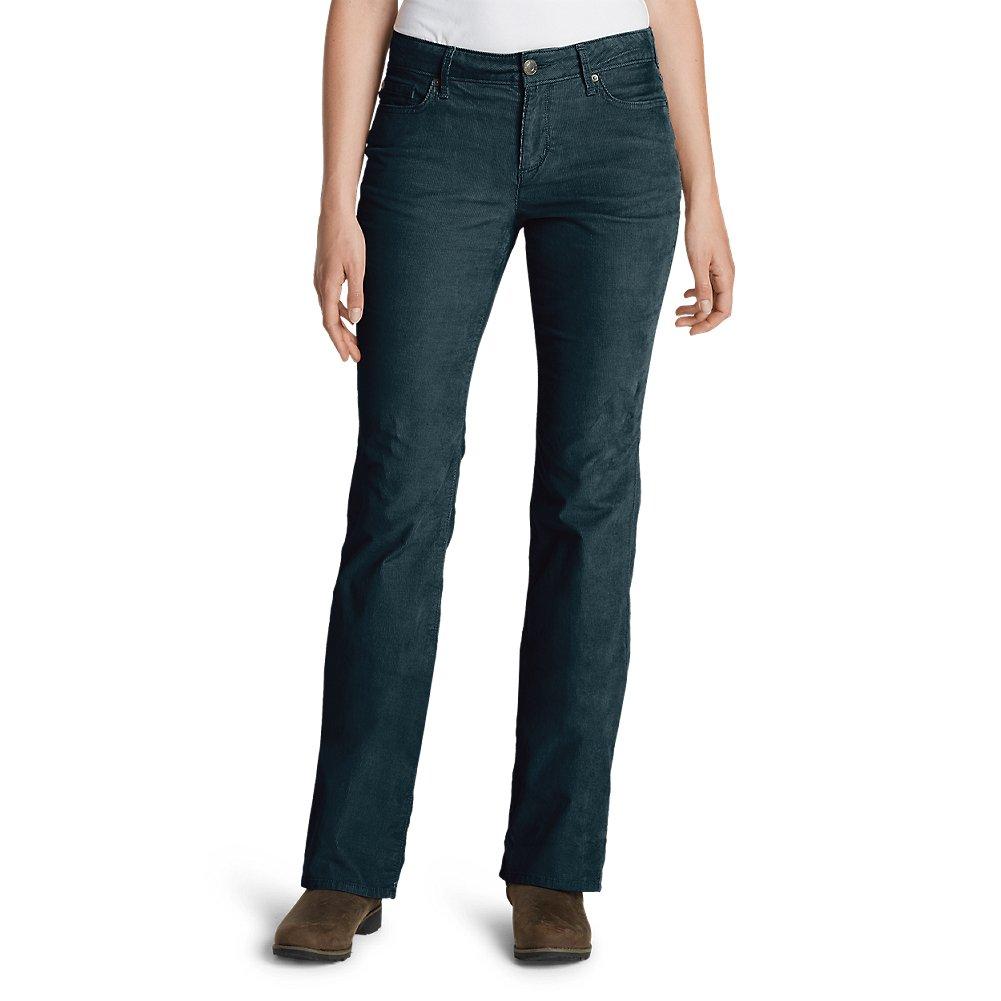Eddie Bauer Women's Curvy Bootcut Cord Pants 21107088