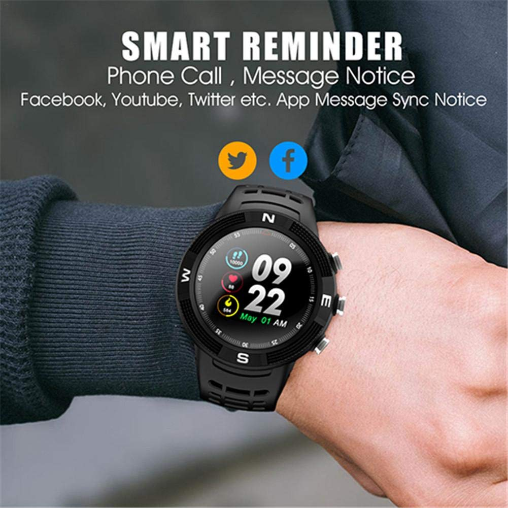 F18 1.3 Smartwatch IP68 Deportes a prueba de agua Bluetooth ...