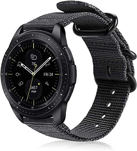 Fintie Correa Compatible con Samsung Galaxy Watch 3 (41mm)/Galaxy Watch Active2/Galaxy Watch Active/Galaxy Watch 42mm/Gear Sport/Gear S2 Classic: Amazon.es: Electrónica