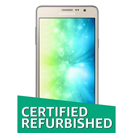 (Certified Refurbished) Samsung On7 Pro G-600FY (Gold, 16GB) Smartphones at amazon