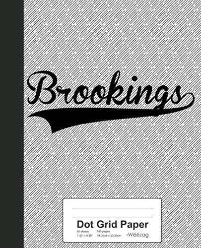 Brookings Papers - Dot Grid Paper: BROOKINGS Notebook (Weezag Dot Grid Paper Notebook)