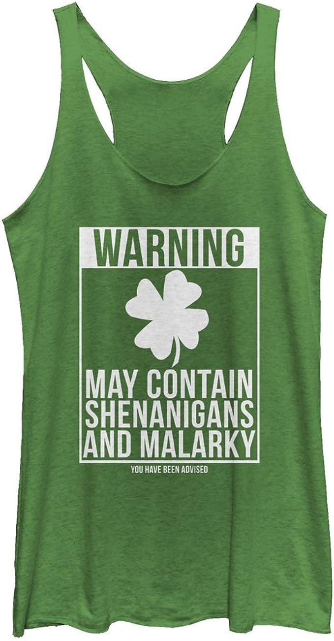 I Shamrock Shenanigans Men/'s Tank Top St Patrick/'s Day tee Green