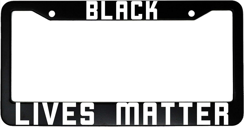 MCMP Black Lives Matter Aluminum License Plate Frame
