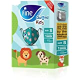 Fine Guard Kids Face Mask, Reusable face mask with virus-killing, antiviral Livinguard Technology, – Green Limited…