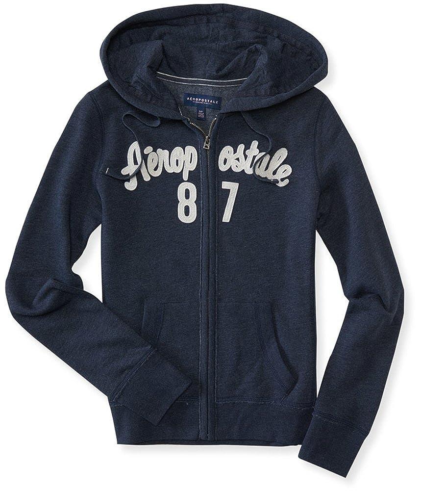 Aeropostale Womens '87 Logo Hoodie Sweatshirt 1119