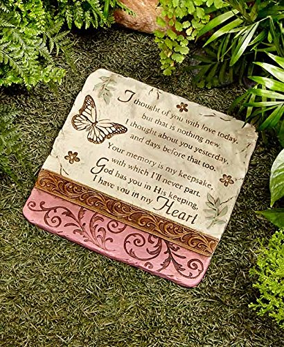 - Lakeside The Collection I Thought of You Yard Decorative Stone