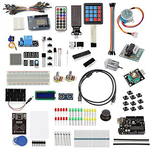 SainSmart Ultimate Starter Kit RFID Master with Motor Relay LCD Servo AVR for Arduino 1602 UNO R3