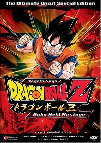 Dragon Ball Z Vegeta Saga 1 Goku Held Hostage Vol 5 Dragon Ball Z Saga 1 Movies Tv