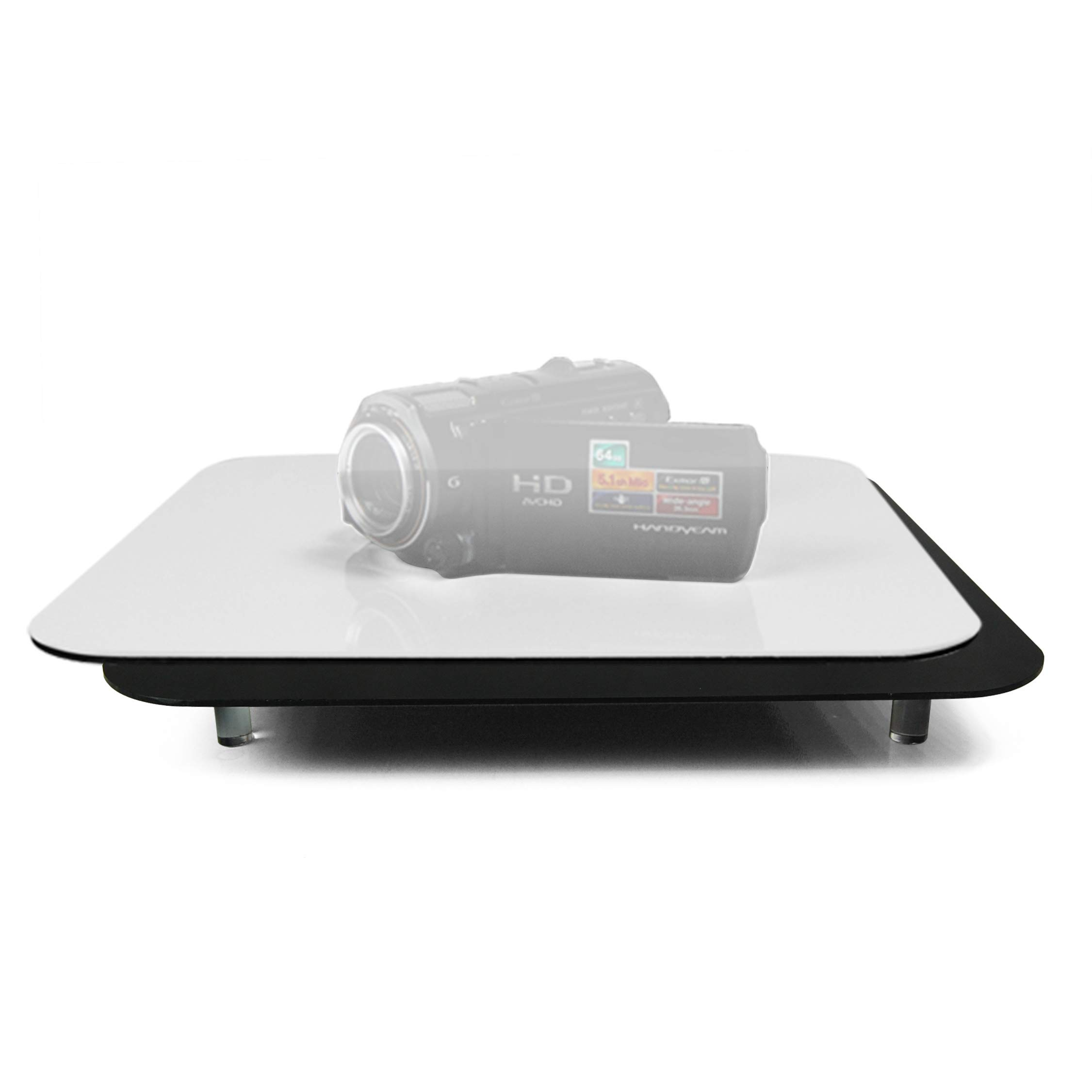 LimoStudio Acrylic Black & White Reflective Display Table Riser for Product Table Top Photography, AGG835 by LimoStudio