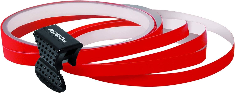Foliatec 34387 Pin Striping Felgen Design Zum Verzieren Z B Von Felgen Rot Auto