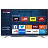 Sharp 49-Inch 3D 1080p Full HD Smart TV with Freeview HD - Silver [Energy Class a_plus]