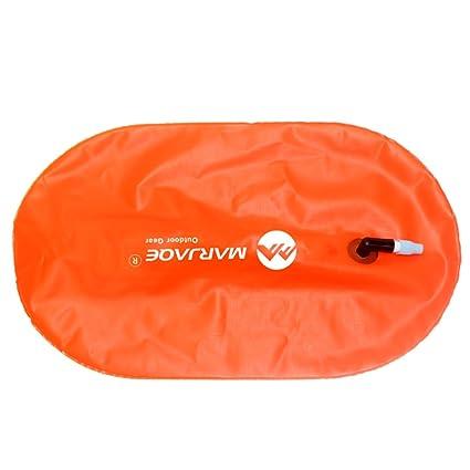 Perfeclan Bolsa de Aire Inflable del Flotador de la Remolque de la boya de la Nadada de la Seguridad de los Deportes para Nadar Abierto del Agua: Amazon.es: ...