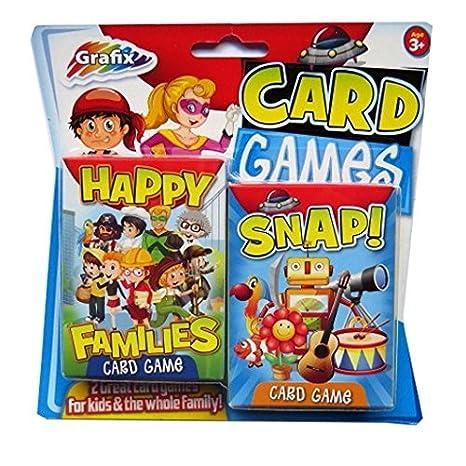Juegos de Cartas de los Niños - paquete de 2 - Snap y ...