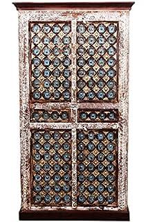 Indischer Marokkanischer Orientalischer Orient Landhaus Schrank Kleiderschrank Dielenschrank Billur