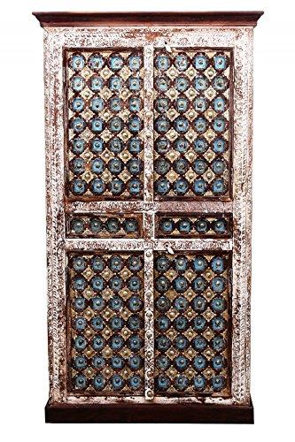 Orientalischer grosser Schrank Kleiderschrank Billur -2- 140cm hoch ...
