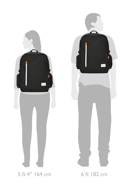 Just Porter Professional Work Backpack - Black | 16'' Laptop