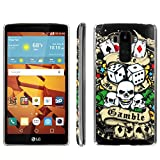 [ArmorXtreme] Phone Case for LG G Stylo LS770 / LG G4 Note Stylus / LG G Stylo H631 / MS631 [Clear] [Ultra Slim Cover Case] - [Gamble Skull] -  ArmorXtreme for LG G Stylo H631