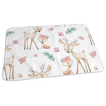 Amazon.com: Sweet Deer U Fox - Colchón cambiador portátil ...
