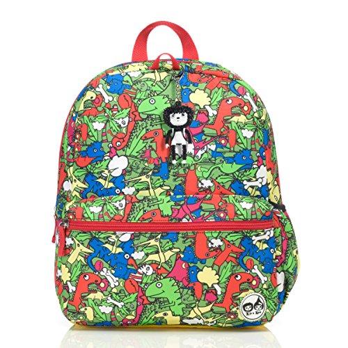 Babymel Zip and Zoe Junior Back To School Backpack Dino-Multi