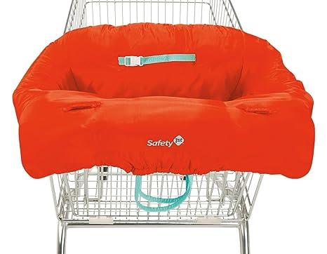 Safety 1st protector para el carro de la compra, acolchado para trona rojo