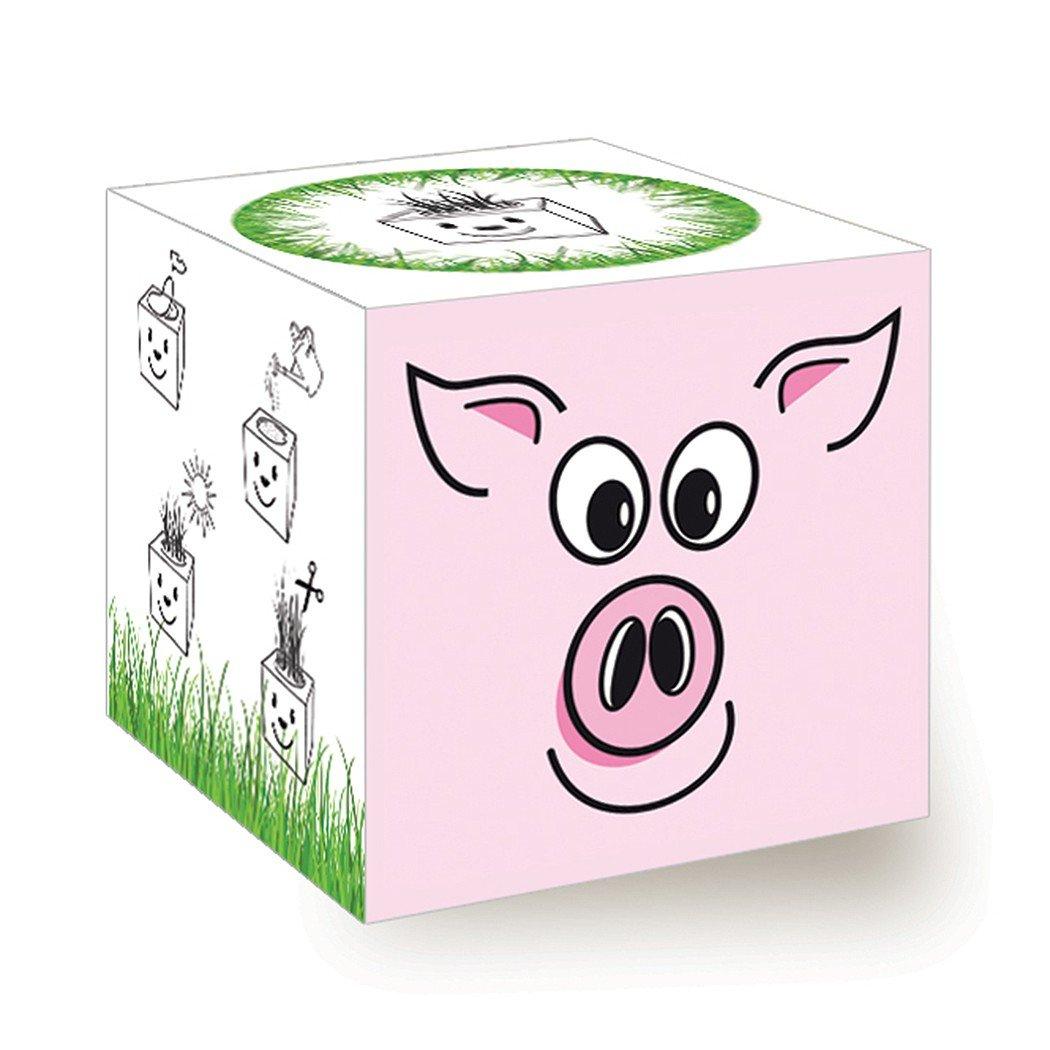 Funny Grass Cube - Schwein Inventive Trading