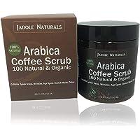 100% Natural Arabica Coffee Scrub, Best Stretch Mark, Acne & Anti Cellulite