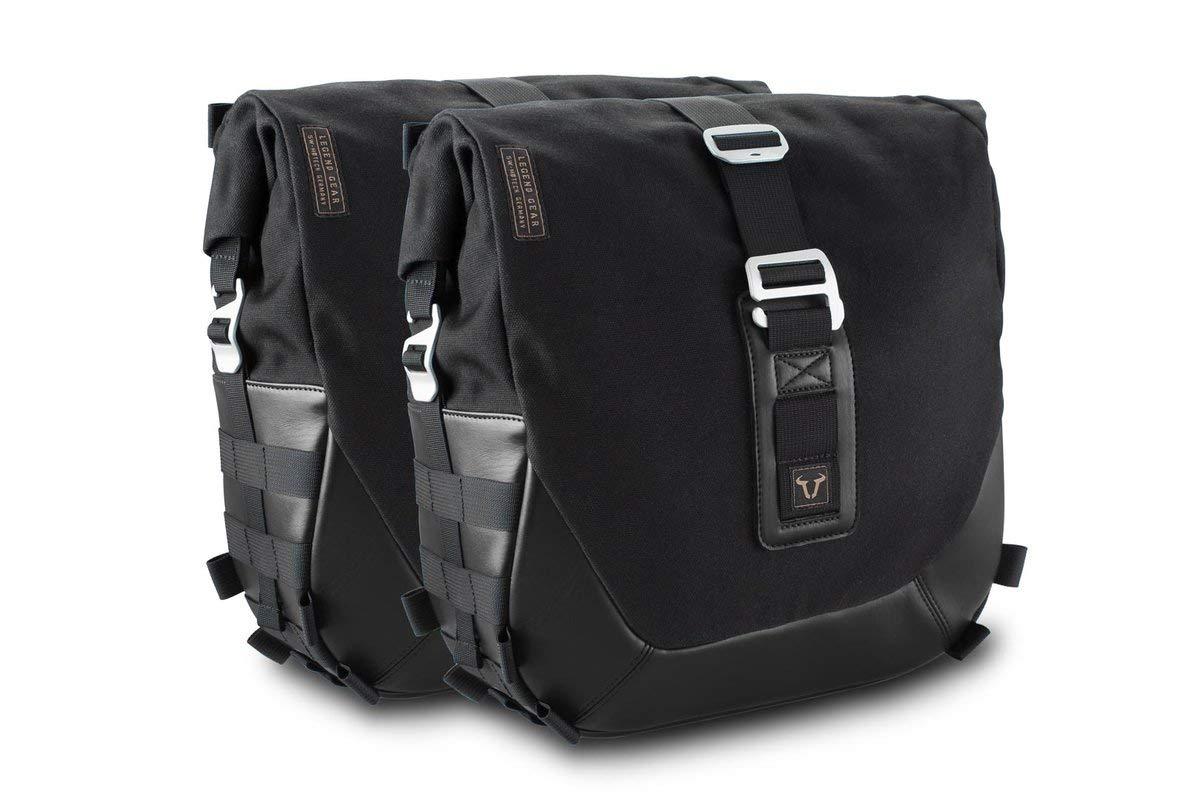 19,6-26,16 Schwarz SW-Motech BC.HTA.06.642.20100 Legend Gear Seitentaschen-Set Black Edition