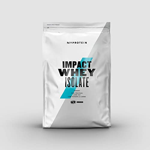 Myprotein Impact Whey Isolate Protein, Vanilla, 40 Servings , 2.2 Pound