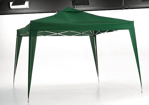 BG - Gacebo Poliester Plegable Verde 3x3. PLICOSA - 800811: Amazon.es: Hogar