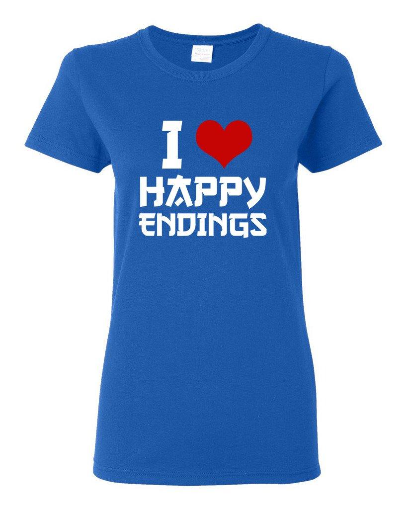 I Love Happy Endings Funny Dt T Shirt Tee 7627