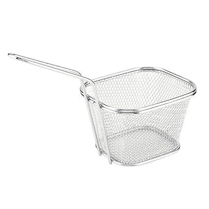 Wifehelper 2 Piezas de Mini Chips Fry Basket Acero ...